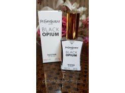 Женская туалетная вода Yves Saint Laurent Black Opium (Ивсент Лоран Блэк Опиум) тестер 45 мл Diamond (реплика)