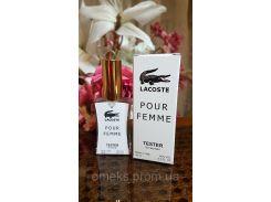 Lacoste Pour Femme(лакоста пур фэм) парфюм женский тестер 45 ml производства ОАЭ Diamond (реплика)