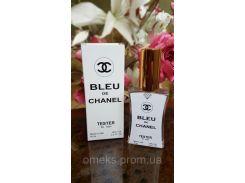 Chanel Bleu de Chanel (шанель блю де шанель) мужской парфюм тестер 45 ml Diamond ОАЭ (реплика)
