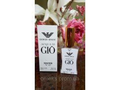 Мужская парфюмерия Giorgio Armani Acqua di Gio (армани аква ди джио) тестер 45 ml Diamond ОАЭ (реплика)