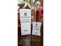 Givenchy pour Homme (живанши пур хом) мужской парфюм тестер 45 ml Diamond ОАЭ (реплика)