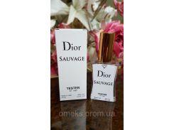 Christian Dior Sauvage (Диор саваж) туалетная вода тестер 45 ml Diamond ОАЭ (реплика)