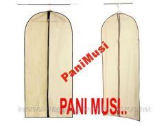 Купить Чехол для одежды, костюмов, рубашек 60х90см