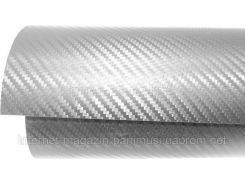 Карбоновая пленка 3D серый цвет оттенок стальной для Авто Стайлинг 20м погонных метров, ширина пленки 1м.27см.