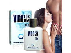VIGO Духи с Феромонами 50мл. Секретное оружие мужчин для соблазна женщин Действуй!