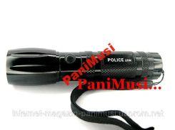 Фонарик для велосипеда алюминиевый мощный POLICE 25 Watt оригинал