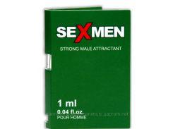 Мужские духи с феромонами  Sexmen  1 ml