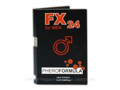 Мужские духи с феромонами FX24 for men 1 ml. Пробник духов. Действуй!