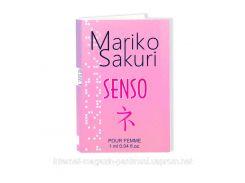 Духи с феромонами для женщин  Mariko Sakuri SENSO 1 ml.Действуй!