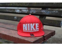 Кепка снепбек бейсболка Nike True Snapback красного цвета, Красный