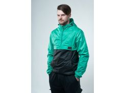 Анорак Feel and Fly Waterproof Mint/black, Черный