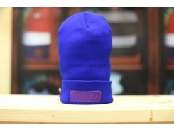 Шапка Mishka Box Logo beanie royal, Синий