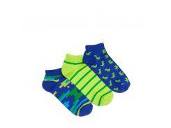 Набор носков Dodo Socks dino (динозавры), Зеленый