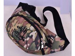 Светлая камуфляжная сумка на пояс Milk Clothing, Разные цвета