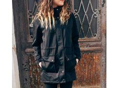Черная женская парка Outfits atm, Черный