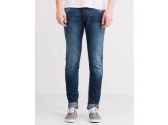 Синие джинсы скинни Pull&Bear 9684/512/402, Синий