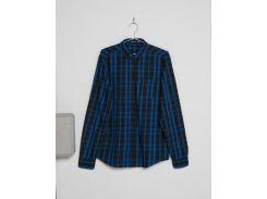 Синяя рубашка в клетку Bershka, Разные цвета