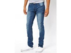 Голубые джинсы зауженого кроя D-Struct Cassetto, Голубой