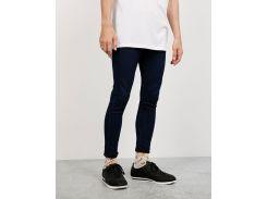 Супер-облегающие джинсы Bershka 0287/043/407, Синий