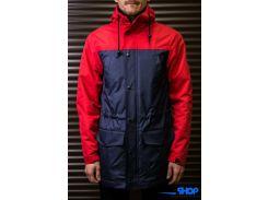 Парка куртка Outfits красно-синего цвета, Разные цвета
