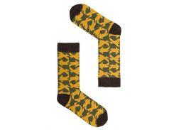 Носки Sammy Icon Cuadricula yellow, Разные цвета