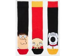 Носки высокие Griffins x ASOS набор из 3 штук, Разные цвета