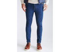 Зауженные джинсы Forever 21 Denim Pant / Long / Indigo, Синий