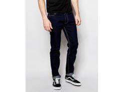 Зауженные джинсы цвета индиго D-Struct картел, Синий