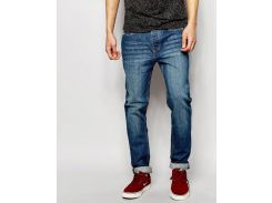 Прямые джинсы D-Struct vanian Kroes синего цвета, Синий