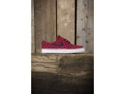 Кроссовки Nike SB Zoom Stefan Janoski 705190601, Бордовый