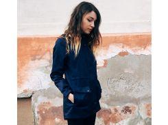 Синяя женская парка Outfits atm, Синий