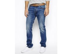 Прямые джинсы Bellfield Manson, Голубой