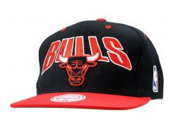 Бейсболка Mitchell & Ness Chicago Bulls, Черный