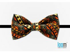 Галстук-бабочка с принтом Loom (Native Orange), Разные цвета