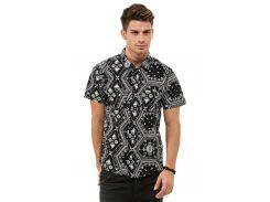 Рубашка с коротким рукавом D-Struct Bandana, Черный