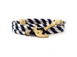 Браслет Anchor Stuff Maritime New Atlantic Line Navy White, Разные цвета