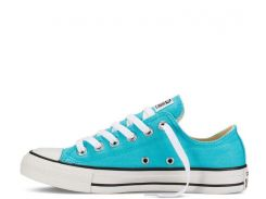 Голубые кеды Converse CT OX Blue Curacao, Голубой