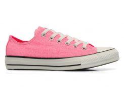 Розовые кеды Converse CT OX Neon Pink, Розовый