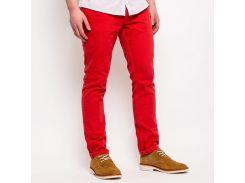 Зауженные красные джинсы Bellfield Linfield, Красный