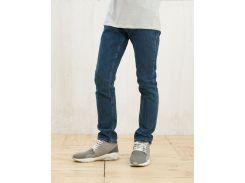 Синие джинсы скинни Bershka 0283/251/427, Голубой