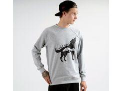 Свитшот Escape Wolf Gray, Серый