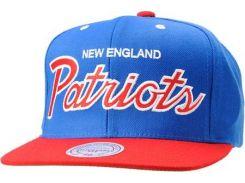 Бейсболка Mitchell & Ness Patriots, Голубой
