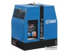 Трехфазный дизельный генератор в кожухе SDMO SD 6000 TE