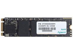SSD накопитель внутренний APACER AS2280P2 240GB NVMe M.2 TLC (AP240GAS2280P2-1)