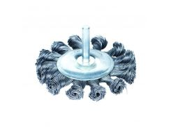 Щётка стальная дискообразная (для дрели, Ø6мм) Ø100мм Sigma (9023101)