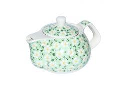 Чайник керамический с металлическим ситом Домашний 250 мл Османтус