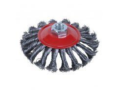 Щётка стальная конусообразная (для УШМ, Ø22.2мм) Ø125мм Sigma (9024121)
