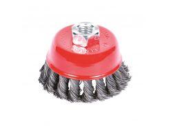 Щётка стальная чашеобразная (для УШМ, Ø22.2мм) Ø75мм Sigma (9026071)