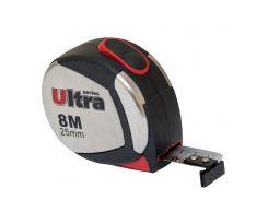 Рулетка магнитная, нейлоновое покрытие  8м*25мм Ultra (3822082)