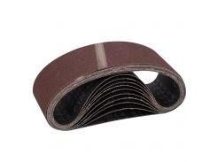 Лента шлифовальная бесконечная 10шт 75х457 зерно 120 Sigma (9151121)
